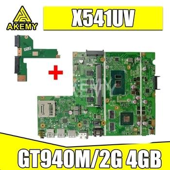 New Free HDD board For Asus X541UVK X541UV X541UJ F541U R541U laptop motherboard Mianboard i5-6200U/ i5-6198DU GT940M/2G 4GB RAM
