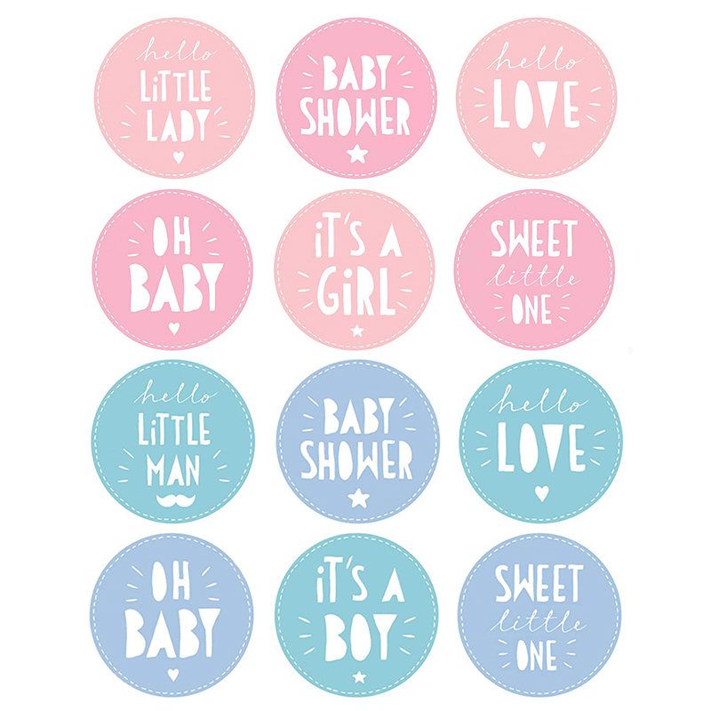 It Is A Boy/girl Stickers Decoration Baby Shower Oh Baby Boy Or Girl Vote Gift Bag Sticker For Gender Reveal Party DIY Supplies