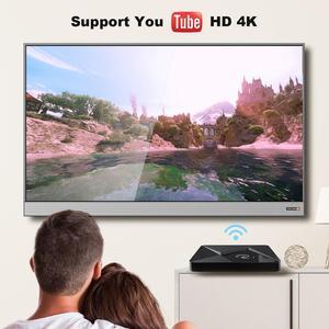 Image 3 - Mini TV Box Q1, Android 9,0, Mini Dispositivo de tv inteligente, Rockchip RK3328A, 2GB, 16GB, reproductor multimedia, Google Play, 2,4, WiFi, Android TV box