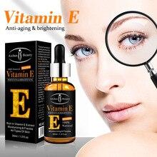 Aichun Vitamin E Facial Eye Serum Moisturizing Anti-wrinkle Brightening Moisturizing Liquid Cosmetic 30ml aichun egg facial serum moisturizing brightening hydrating hyaluronic acid repairing firming serum