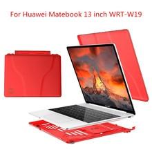 Slim Cover For Huawei Matebook 13 Case Heat Dissipation Stand Holder Notebook Case For Huawei Laptop Matebook 13 inch WRT-W19 цена и фото