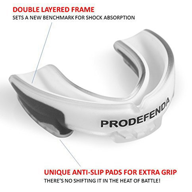 EVA Mouth Guard and Teeth Protector Suitable for Sports and Fighting Games 5
