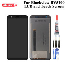 Alesser para blackview bv5100 display lcd e tela de toque 5.70