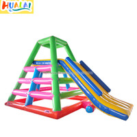 inflatable water slide water park games PVC 0.9mm water toy large outdoor recreation