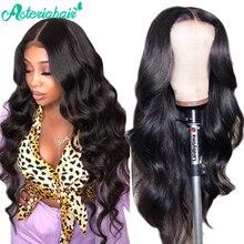 Perruque Body Wave Lace Front Wig Remy brésilienne – Asteria Hair, perruque de cheveux naturels, pre-plucked, avec baby Hair, pour femmes noires