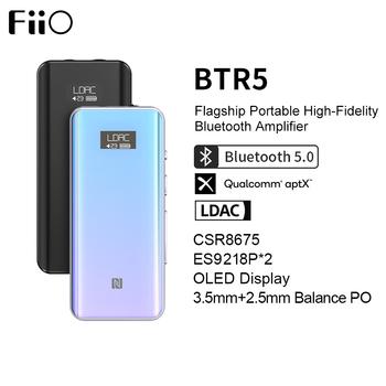 FiiO BTR5 24bit hi-res CSR8675 odbiornik Bluetooth 5 0 USB DAC DSD256 wzmacniacz słuchawkowy z LDAC aptX HD(3 5mm 2 5mm) tanie i dobre opinie TYPE-C AUDIO CN (pochodzenie) Brak Podwójne