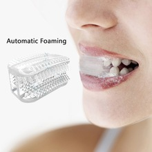 Toothbrush Brushing-Tool Silicone 360-Cleaning Mini Teeth Food-Grade Automatic