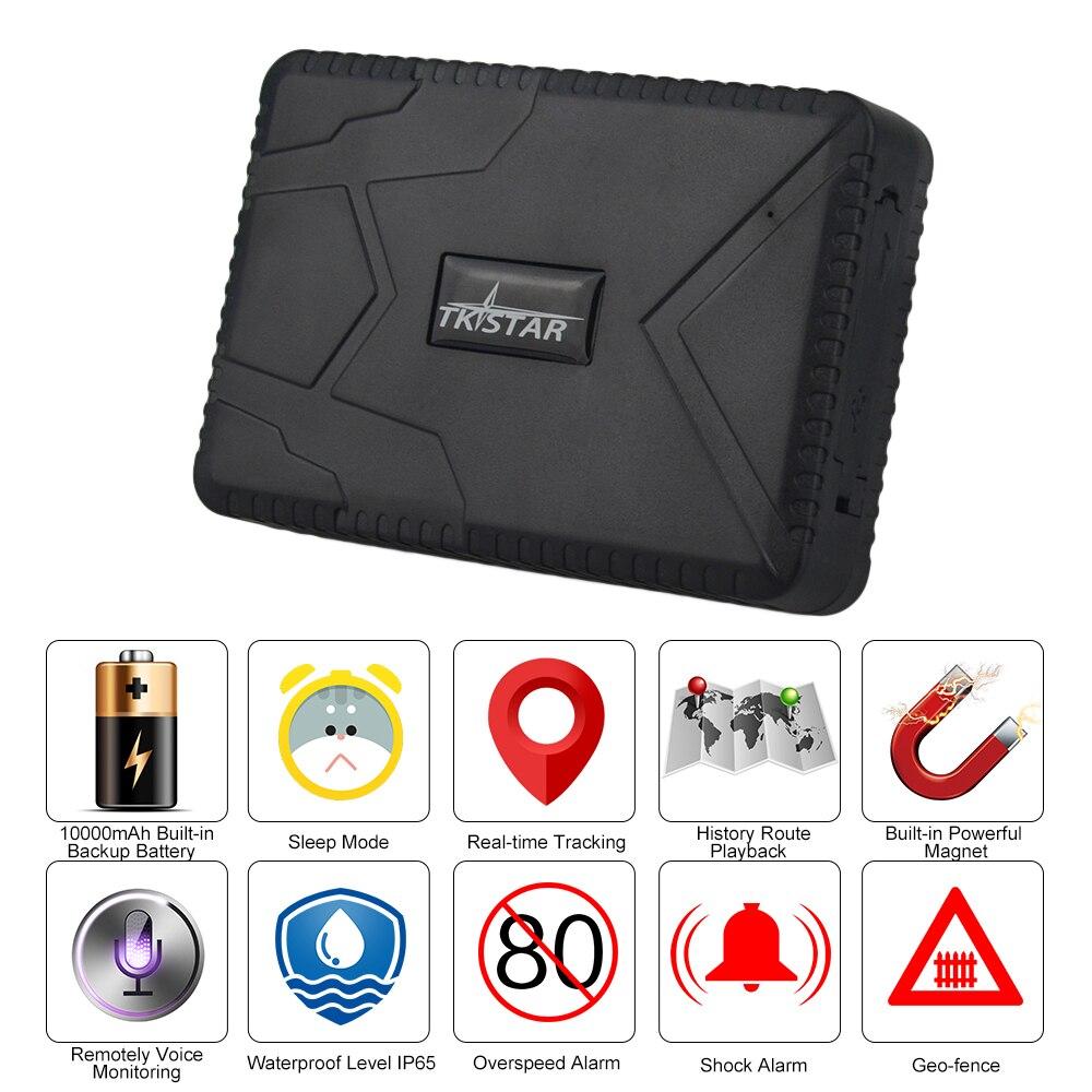 Водонепроницаемый Автомобильный локатор TK915, длинный автомобильный GPS-трекер, сильный магнит в режиме ожидания, устройство слежения GPS, 10000 м...