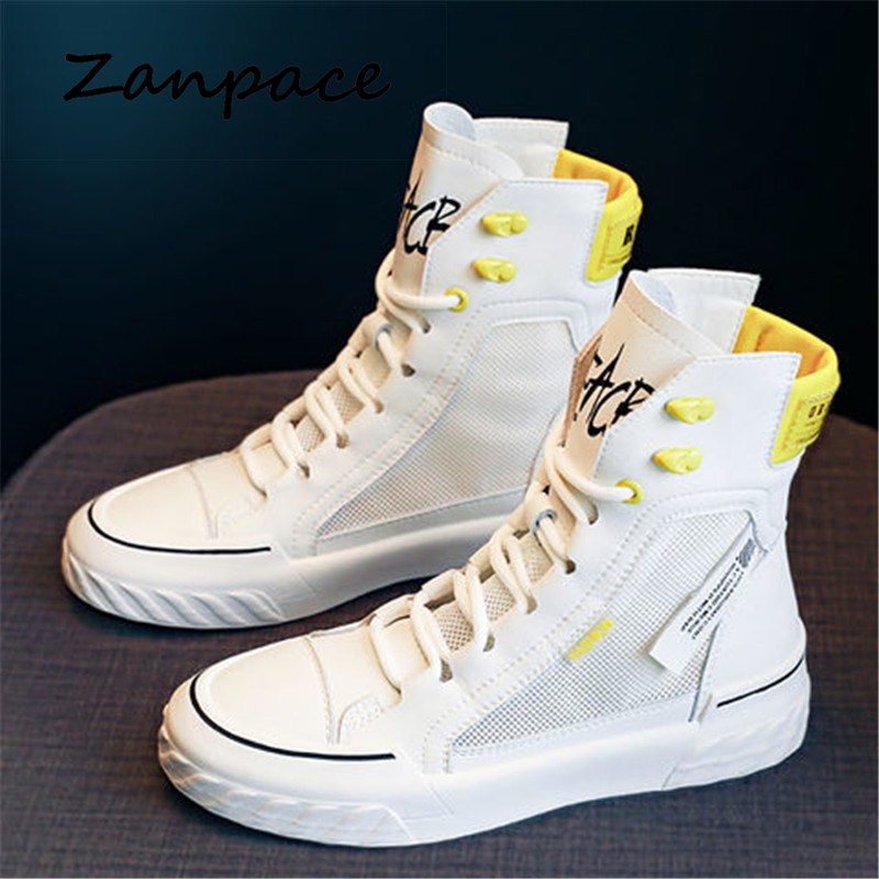 ZANPACE 2021 Platform Women's Sneakers New Autumn Canvas Lace Up Vulcanized Shoes Summer Breathable White Casual Women Shoes|Women's Vulcanize Shoes| - AliExpress