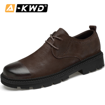 Men's Shoes Casual Shoes Fashion Sneakers Brand Men 2019 Leather Elevator Shoes for Men Zapatos Hombre Cuero Genuino Footwear 46