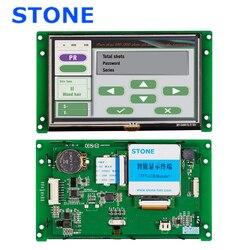 5 pollici HMI Smart TFT LCD Modulo Display con il Regolatore di Programma + + Touch + Interfaccia Seriale UART STVC050WT-01