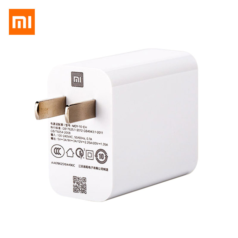Image 5 - Original Xiaomi Mi 9 Mi9 Fast Charger QC 4.0 27W Fast Charge Adapter Type C Cable For Redmi Note 7 K20 pro Mi 9 8 SE 6 A2 A1 MAX-in Mobile Phone Chargers from Cellphones & Telecommunications