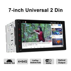 Image 4 - JOYING 2 din head unit car radio player GPS Navigation universal stereo multimedia 4GB+64GB support 4G/Carplay/Reverse camera BT