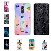 For Alcatel 3C Cover Ultra-slim Soft TPU Silicone For Alcatel 3C Phone Case Cute Cartoon Patterned For Alcatel 3C Shell Capa цена и фото