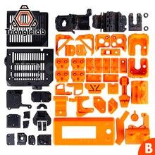 TriangleLAB PETG malzeme tam baskılı parçaları DIY Prusa i3 MK3S ayı yükseltme 3D yazıcı değil PLA malzeme