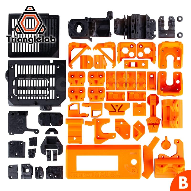 TriangleLAB PETG Material Full Printed Parts For DIY Prusa I3 MK3S Bear Upgrade 3D Printer  NOT PLA  Material