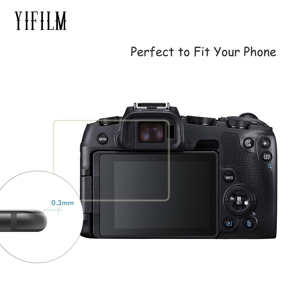 Película de vidrio templado de 9 H claro Protector de Pantalla LCD para Canon EOS 5D Mark IV