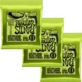 3 упаковки, никелевые Струны для электрогитары EniBall 2221 (010-046)