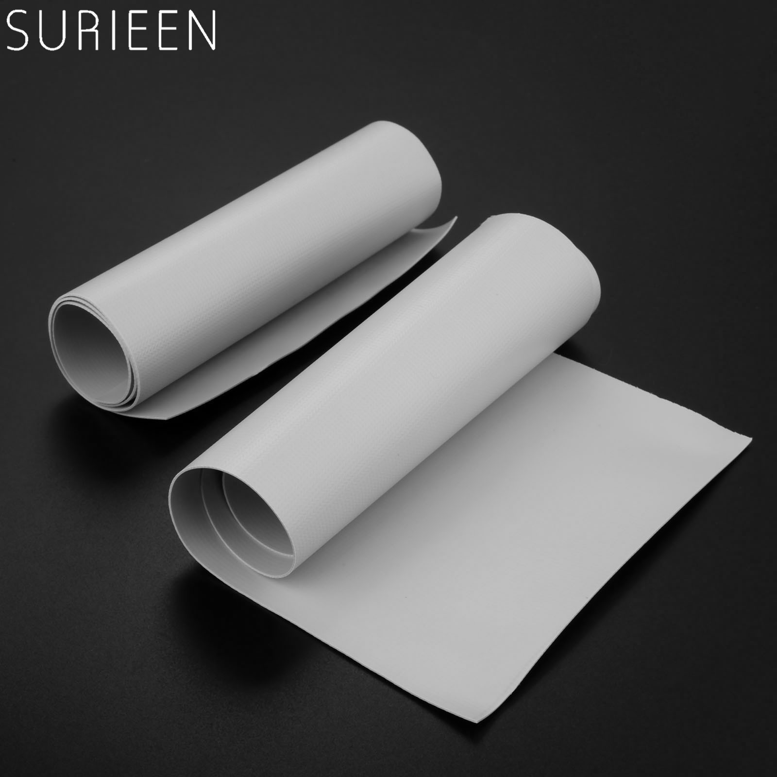 1 Roll 370*150mm Gray Inflatable Boats Kayak Canoe Special Damaged Leaking Hole PVC Repair Patch Kit Glued Waterproof Patch Tool