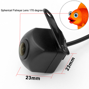 Image 2 - HD 170 Angle Fisheye Lens Dynamic Trajectory Parking Line Car Rear View Reverse Backup Camera For Vehicle Parking Monitor