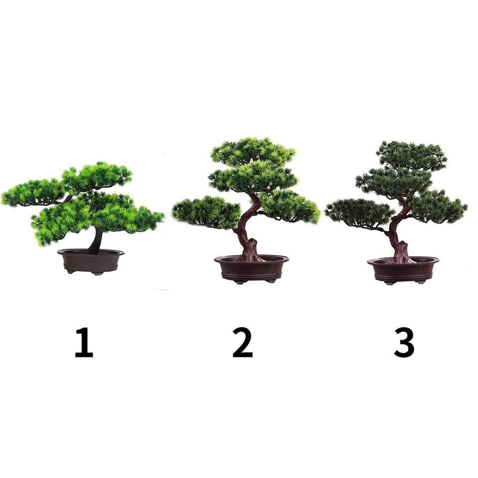 Festival Potted Plant Simulation Decorative Bonsai Home Office Pine Tree Gift Diy Ornament Lifelike Accessory Artificial Bonsai Artificial Plants Aliexpress