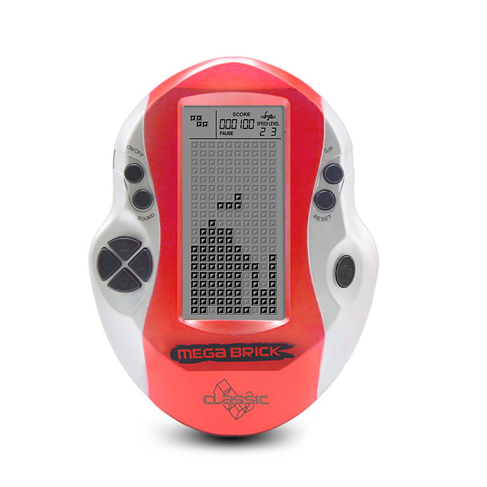 docooler Pocket Console Handheld Video Game Console 3in LCD Mini Portable Brick Game Player w  Built-in 26 Games