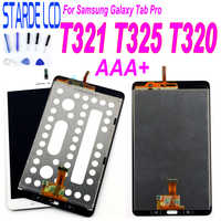 New For Samsung Galaxy Tab Pro SM-T320 T321 T325 SM-T321 LCD Display Touch Screen Digitizer Sensors Assembly Panel Replacement