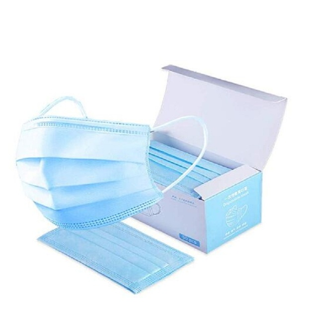 200PCS 3 layers mouth mask Anti Dust Mouth Mask Carbon Filter Windproof Mouth-muffle Bacteria Proof Flu kind Face Masks