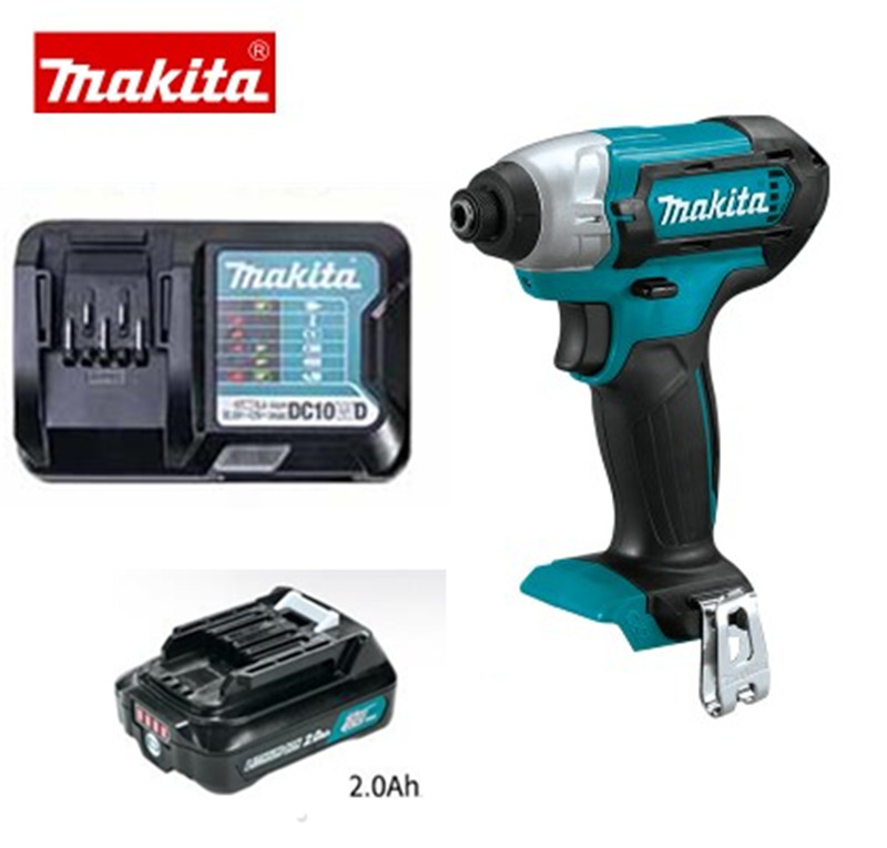 220-240V Makita TD110DZ TD110D TD110DSME TD110DSAE TD110DWYE 10.8V CXT Li-ion Cordless Impact Diver With 1 Battery And 1 Charger