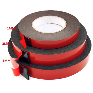 10 Meters Long Super Strong Double Side Adhesive Foam Tape For Mounting Fixing Pad Sticky 2-3mm Thickness