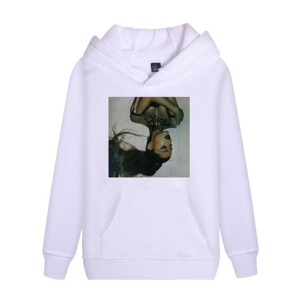 THE NEW Ariana Grande int Hooded Women/Men popular Clothes 2019 Harajuku Casual Hot Sale Hoodies Kpop sweatshirt PlusSize