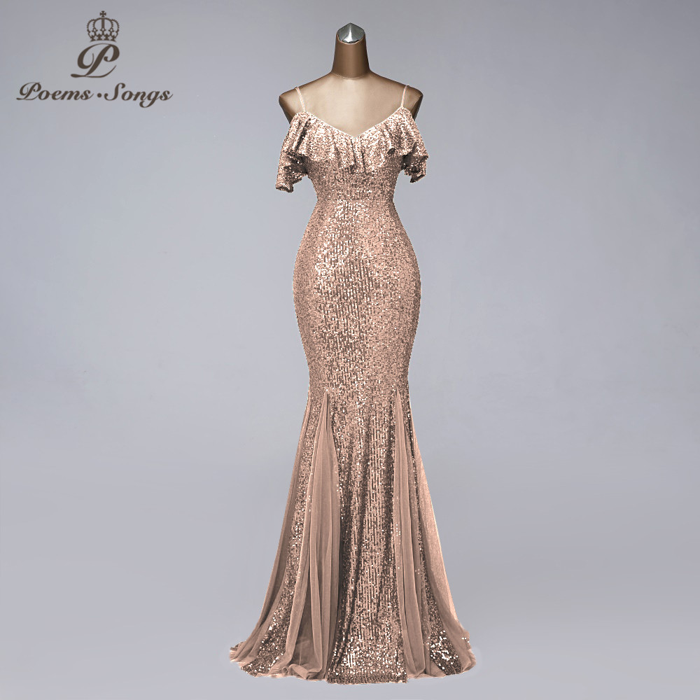 Formal Evening Dresses Long Evening Gowns Mermaid Dresses Woman Party Night Suspender Vestidos De Fiesta De Noche