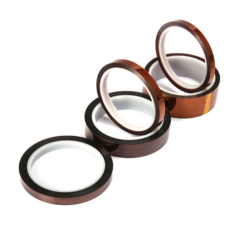 Thermal Adhesives Tape Panel Protector 3D High Temperature Heat Tapes Hardware Home Improvement Insulation Tape Polyimide Sealer 5