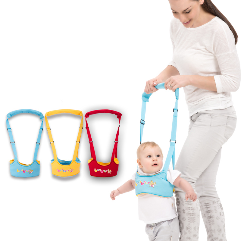Toddler Belt Cartoon Baby Walking Assistant Infant Safety Harnesses Belt Kids Adjustable Strap Leashes