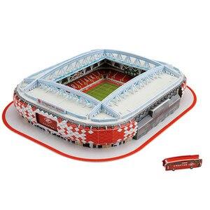 Image 4 - 2020 חדש כדורגל אצטדיון 3D פאזל מקסיקני ספרד משחקים עולם אדריכלות דגם התאסף בניין צעצועים לילדים