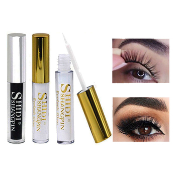 Professional Quick Dry Eyelash Glue False Eyelash Extension Long Lasting Waterproof Beauty Adhesive Makeup Tools Eye Lashes Glue professional eyelash extension set thick false eyelashes eyelash glue eye lashes glue remover clean tool set