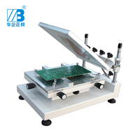 Pcb Stencil Printer /SMT Production Line Smt Stencil Machine with 300*400mm workbench