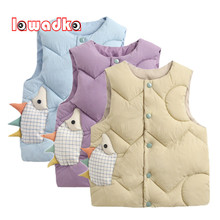 Lawadka Baby Girl Winter Clothes Waistcoat Fashion Vest for Boy Soft Sleeveless Vest for girl Age for Kids From 0 to 4years 2020
