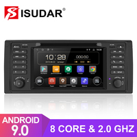 Isudar Octa Core 1 Din Auto Radio Android 9 For BMW 5 Series E39 CANBUS Car Multimedia Video DVD Player GPS Navigation DSP DVR