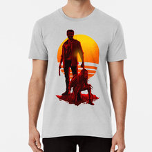 Camiseta Logan Sunset Logan Adamantium Magneto Xavier Superhuman Primera Clase merik(China)