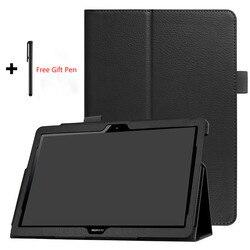 Чехол-книжка для Huawei MediaPad T5 10 AGS2-W09/L09/L03 10,1, чехол для планшета, чехол-подставка из искусственной кожи для Huawei T5 10 9,6 T5