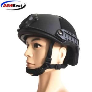 Image 3 - ACh high cut tactical bulletproof helmet bulletproof armor aramid core helmet NIJ IIIA 3A