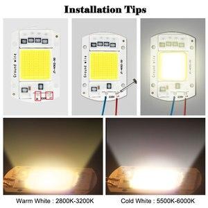 LED Chip 10W 20W 30W 50W Smart IC COB Licht Perlen 220V 240V DIY für Led-lampe Flutlicht Scheinwerfer