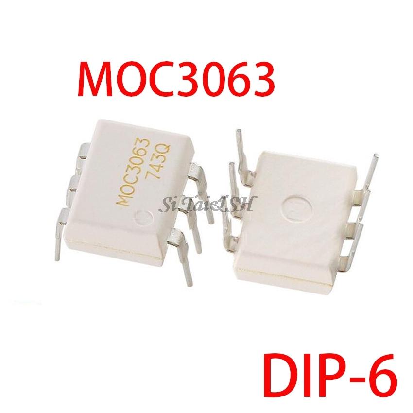 10PCS MOC3063 DIP6 DIP DIP-6 New And  Original IC