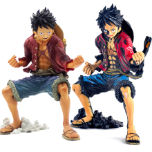 Anime Figure Action One Piece Japanese Anime Action Figure Toys Luffy Toy Action Figures One Piece Figure Anime Discolored Luffy