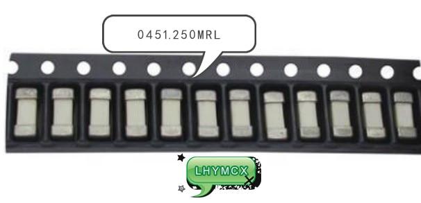 20PCS 0451.250MRL 1808 0.25A SMD 0.25A 250MA 125V
