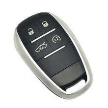 Datong mundo carcasa de la llave a distancia del coche caso para Alfa romeo giulia 2017 alfa romeo stelvio 2017 Auto Control inteligente reemplazar caso clave