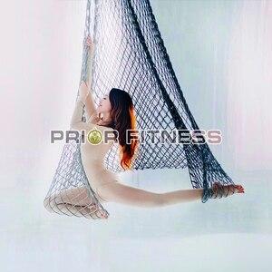Image 5 - Ad alta Quota Aerea Yoga Amaca Yoga Rete Da Pesca Appesa Al Netto Altalena Rete di Corda Appesa Al Netto Letto Netto di Yoga Sala