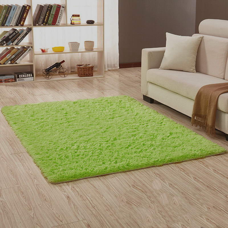 Carpet Bedroom Bathroom Living Room Porch Carpet Rug Mat Yoga Table Mat Fruit Green Color 60*120cm 50*80cm 120*160 Cm