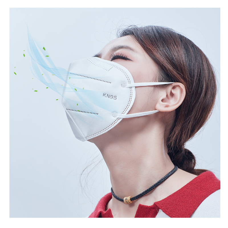 KN95 mask 95% filter antibacterial N95 mask dustproof PPE protective mask face mask FFP2 anti-infective saliva Cold and smog
